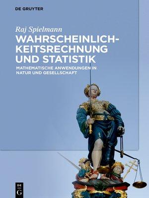 cover image of Wahrscheinlichkeitsrechnung und Statistik