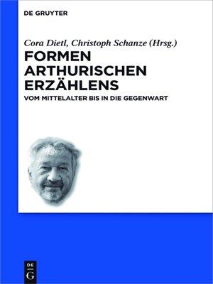 cover image of Formen arthurischen Erzählens