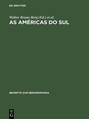 cover image of As Américas do Sul