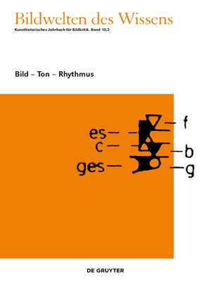 cover image of Bild--Ton--Rhythmus