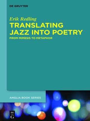 cover image of Translating Jazz Into Poetry