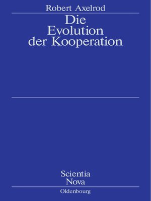 cover image of Die Evolution der Kooperation