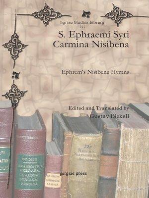 cover image of S. Ephraemi Syri Carmina Nisibena