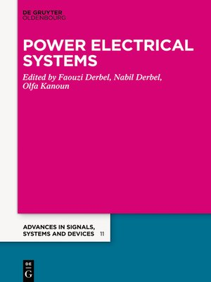 cover image of Power Systems & Smart Energies