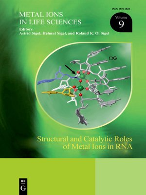 cover image of Structural and Catalytic Roles of Metal Ions in RNA