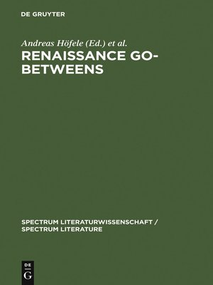 cover image of Renaissance Go-Betweens