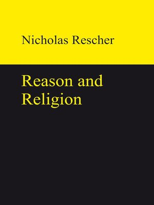 cover image of Reason and Religion