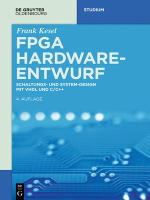 cover image of FPGA Hardware-Entwurf