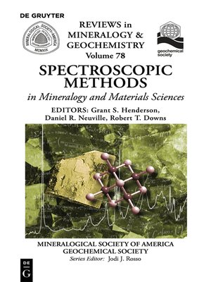 cover image of Spectroscopic Methods in Mineralogy and Material Sciences