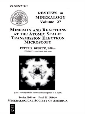 cover image of Minerals and Reactions at the Atomic Scale