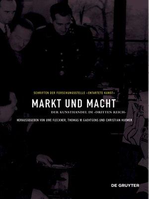 cover image of Markt und Macht