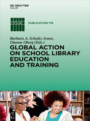 cover image of Global Action on School Library Education and Training