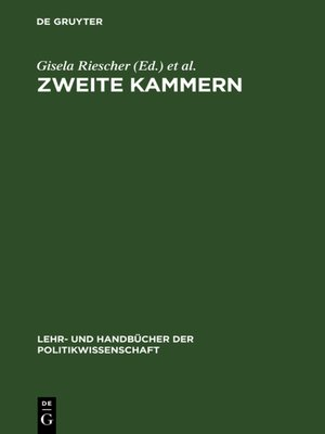 cover image of Zweite Kammern