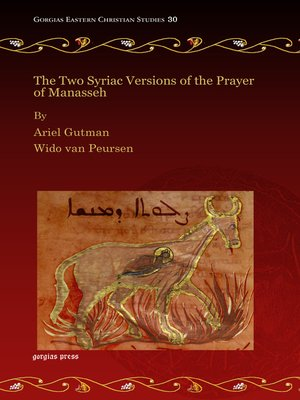 cover image of The Two Syriac Versions of the Prayer of Manasseh