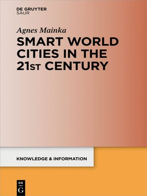 cover image of Smart World Cities in the 21st Century