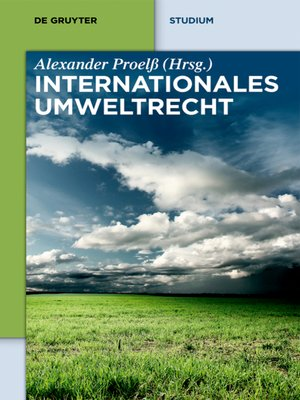 cover image of Internationales Umweltrecht