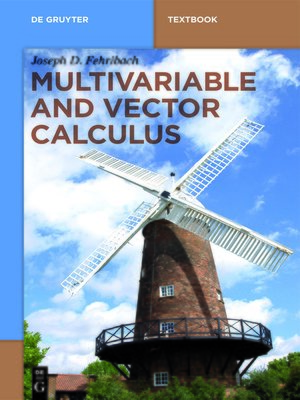 cover image of Multivariable and Vector Calculus