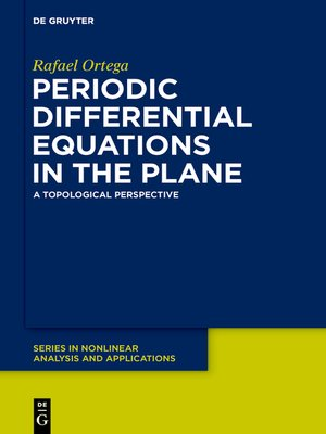 cover image of Periodic Differential Equations in the Plane