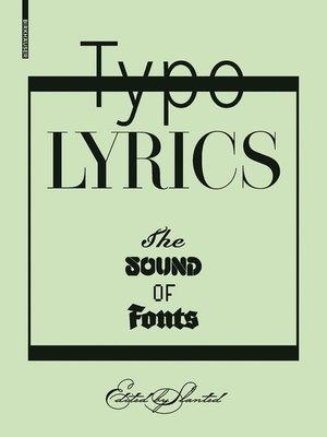 cover image of TypoLyrics