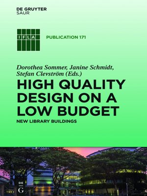 cover image of High Quality Design on a Low Budget