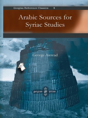 cover image of Arabic Sources for Syriac Studies