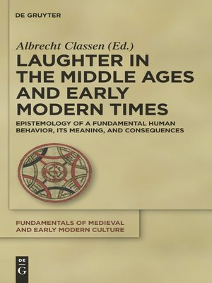 cover image of Laughter in the Middle Ages and Early Modern Times
