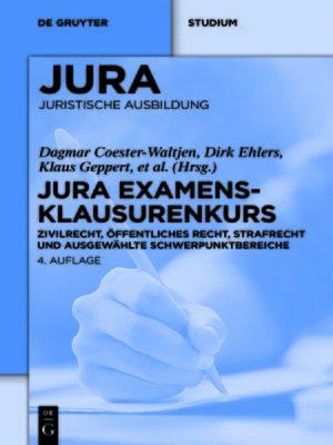 cover image of JURA Examensklausurenkurs
