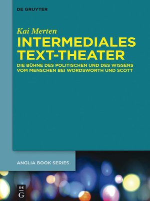 cover image of Intermediales Text-Theater