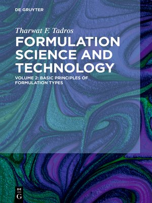 cover image of Basic Principles of Formulation Types