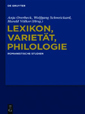 cover image of Lexikon, Varietät, Philologie