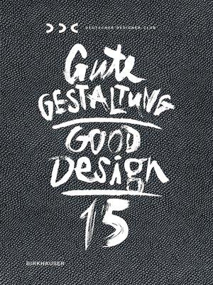 cover image of Gute Gestaltung 15 / Good Design 15