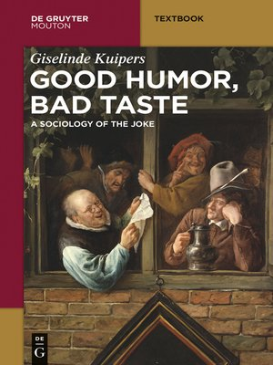 cover image of Good Humor, Bad Taste
