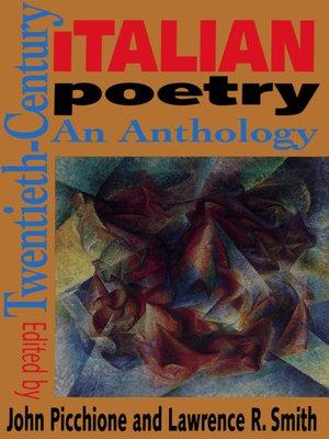 cover image of Twentieth-Century Italian Poetry