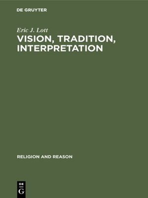 cover image of Vision, Tradition, Interpretation
