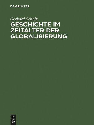 cover image of Geschichte im Zeitalter der Globalisierung
