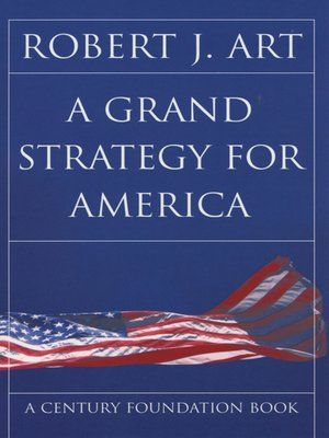 cover image of A Grand Strategy for America