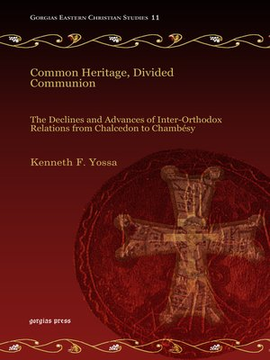 cover image of Common Heritage, Divided Communion