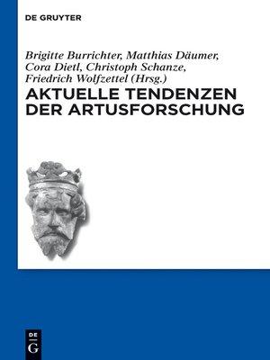 cover image of Aktuelle Tendenzen der Artusforschung