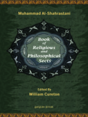 cover image of The Book of Religious and Philosophical Sects