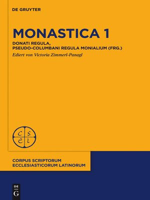 cover image of Monastica 1