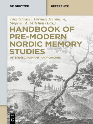 cover image of Handbook of Pre-Modern Nordic Memory Studies
