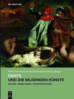 cover image of Dante und die bildenden Künste