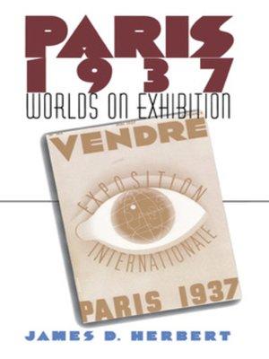 cover image of Paris 1937