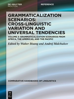 cover image of Grammaticalization Scenarios from Africa, the Americas, and the Pacific