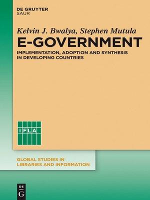 cover image of E-Government