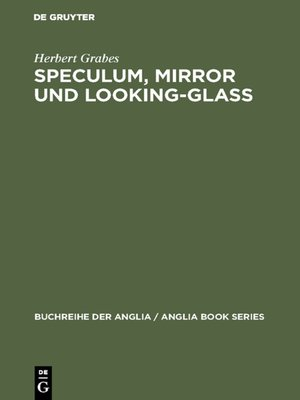cover image of Speculum, Mirror und Looking-Glass