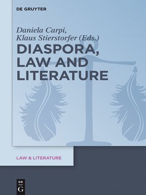 cover image of Diaspora, Law and Literature