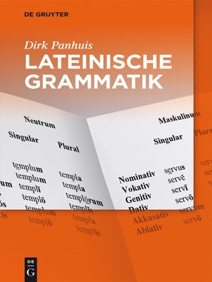 cover image of Lateinische Grammatik