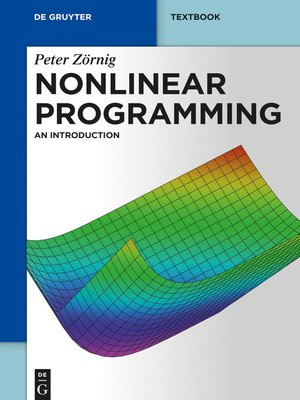 cover image of Nonlinear Programming