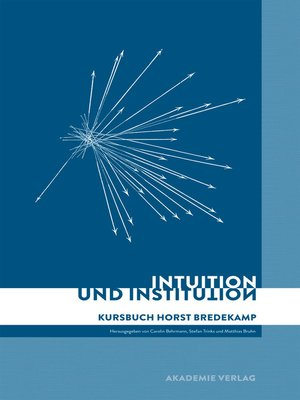 cover image of Intuition und Institution